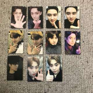 EXO 5th Anniversary Debut Snackbag Photocards