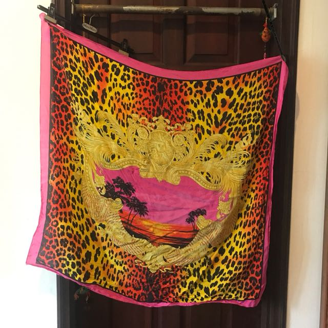 100% silk Versace for HnM scarf