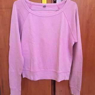 Sweater Uniqlo Pink