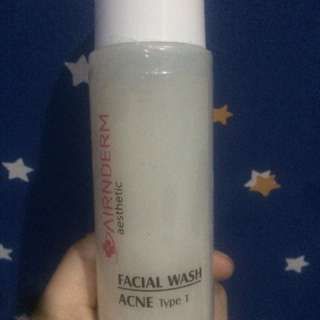 Airin beauty care, facial wash acne type 1