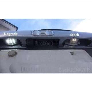 Honda Vezel Ru1 -4 ( Number plate light )