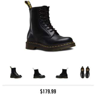 Womens 6 Black DOCS