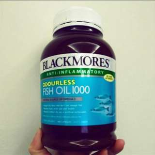 🚚 BLACKMORES魚油