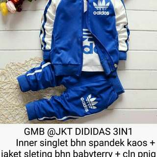 Jaket adidas 3 in 1