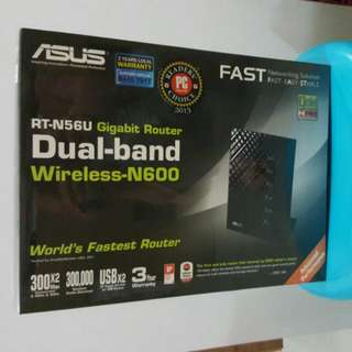 Asus dual band gigabit router