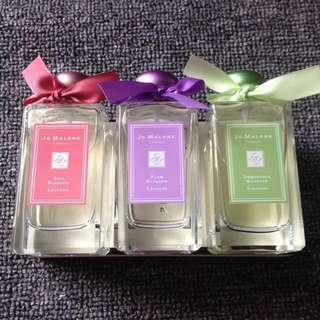 Jo Malone Limited Edition Silk Blossom/Plum Blossom/Osmanthus Blossom Cologne 100ml with box