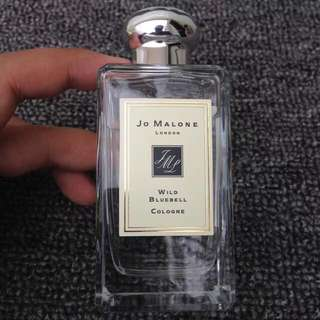 Jo Malone Wild Bluebell Cologne 100ml with box