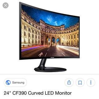 Samsung C24F390 Monitor