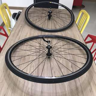 Mavic CXP22 wheelset