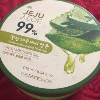 The face shop jeju aloe gel
