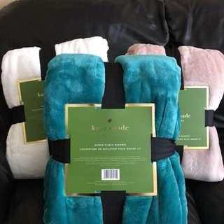 Kate Spade fleece blanket