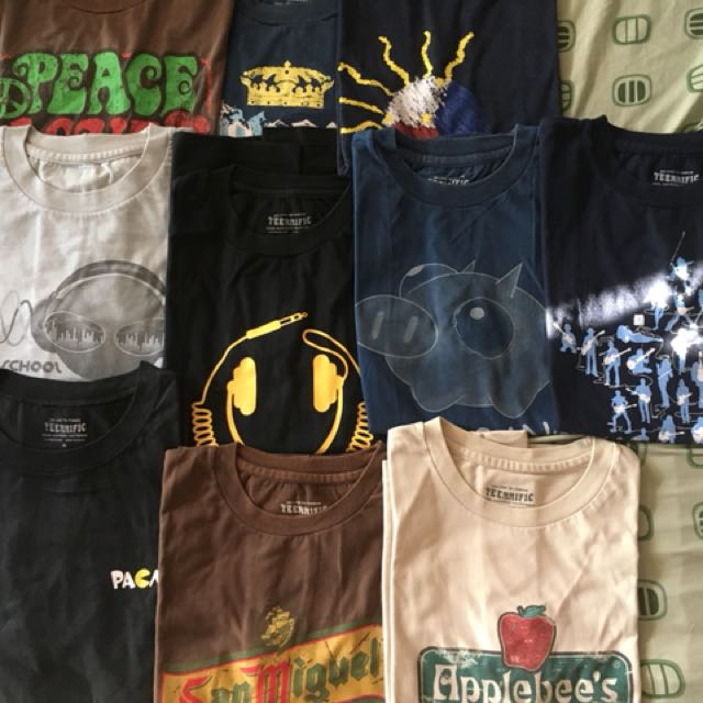 10 Assorted Generic Shirts for Men for only 500 Pesos