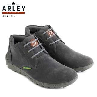 Sepatu boots kasual pria original