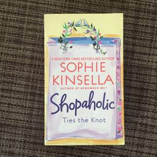 Shopaholic Ties the Knot - A novel by Sophie Kinsella (English)