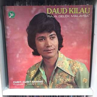 Daud Kilau Cubit-cubit Sayang vinyl lp