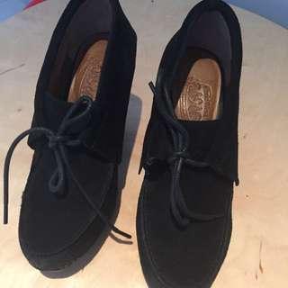 NineWest black shoes size 7