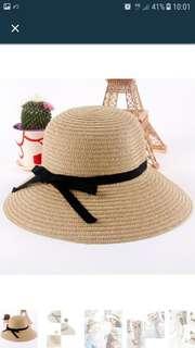 Bohemian Sun Hat Straw (light brown)