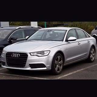 $95/day Sporty Audi A6 for Rent
