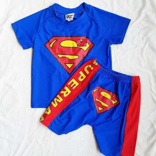 Peter&Paul superman swimsuit