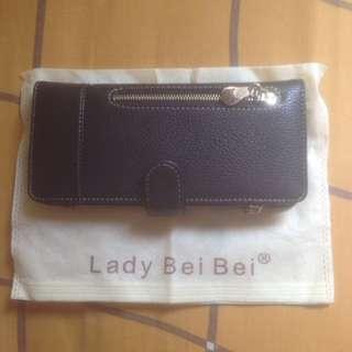 Dompet panjang hitam lady bei bei