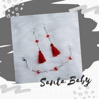 SANTA BABY set