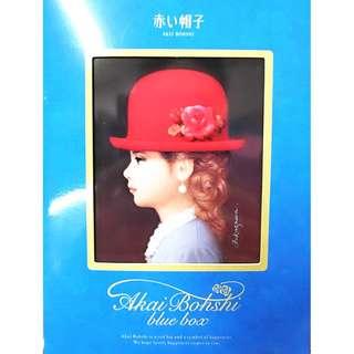 日本  紅帽子藍禮盒