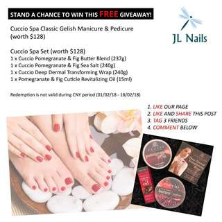 Fb like and share free giveaway