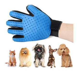 Pet Grooming Glove, Deshedding Glove, for Removing Pet Shedding Hair, Pet Massage and Bathing Brushfor Dog and Cat - 1 Pair