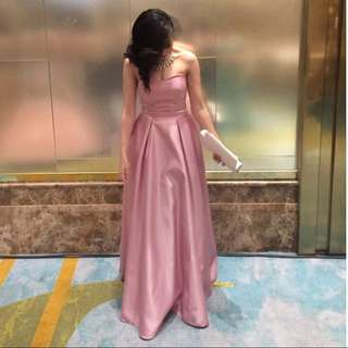 Dusty Pink Long Gown for RENT