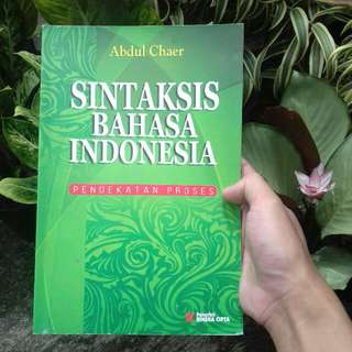 Sintaksis Bahasa Indonesia: Pendekatan Proses by Abdul Chaer