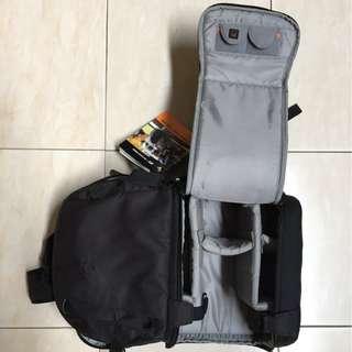 Lowepro 250 AW DSLR Video Fastpack Tas Kamera - Hitam