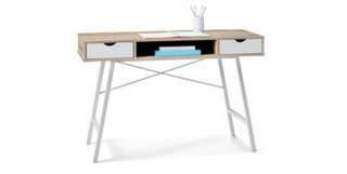 White and Wooden Desk