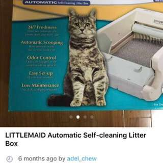 LITTLEMAID Automatic Self-cleaning Litterbox