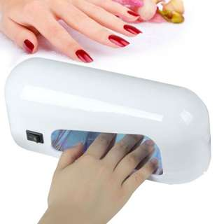 9W Nail Lamp Nail Dryer for gel nail machine curing hard gel polish best for personal home manicure