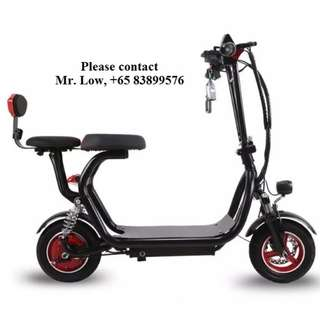 E-Scooter (Dual Seats Design)