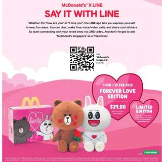 🚚 LINE Forever Love Special Edition Box