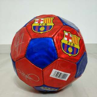 Fc Barcelona Authentic Autographed Soccer Ball