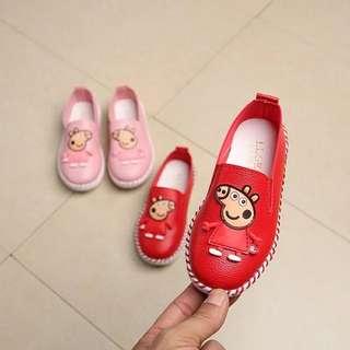小猪佩奇豆豆女童鞋