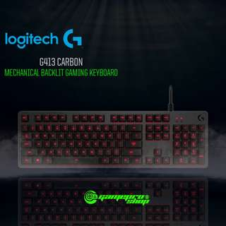 Logitech G413 (920-008313) Carbon Mechanical Backlit Gaming Keyboard