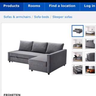 New Ikea sofa bed