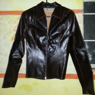 REPRICED Leather Jacket