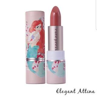 Authentic Cute Press Limited Ed LITTLE MERMAID Marine Collagen Lipstick Stain