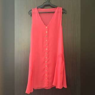 Pink Coverup Dress