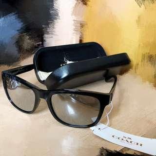 Coach HC8212 black / matte black sunglasses 太陽眼鏡