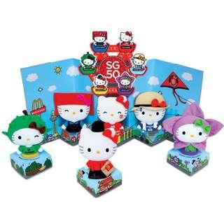 🚚 McDonald's X Hello Kitty SG50 Plush Collectibles