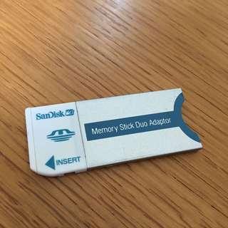 SanDisk Memory Stick Duo Adaptor