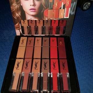 YSL 6 lipstick 6 lipstain