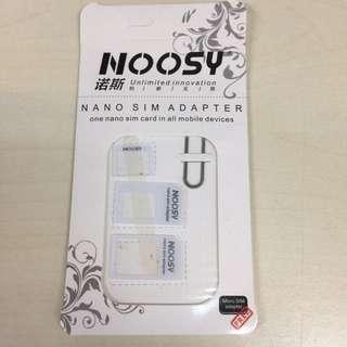 包郵 - 三合一sim卡轉換器 Nano Sim Adaptor
