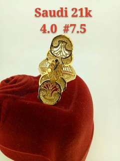 Lady's ring Authentic real gold