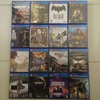PS4 Games Spring Sale 2018 Round 6 *Any 2 Games for $50 (All Brand New & Sealed)